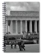 Remembering Abe  Spiral Notebook