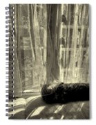 Remembering The Softness Of Your Touch Spiral Notebook