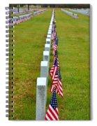 Remembering Veteran's Day Spiral Notebook