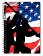 Remembering World War II Spiral Notebook