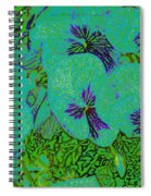 Remembrance Flowers Spiral Notebook