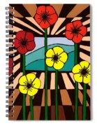 Remembrance Poppy Spiral Notebook