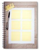 Reminder Notes Spiral Notebook