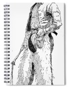 Remington Cowboy, 1887 Spiral Notebook