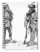 Remington Frontiersmen Spiral Notebook