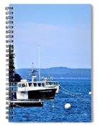 Remington Lobster Boat Spiral Notebook