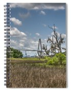 Remleys Point Bridge View Spiral Notebook