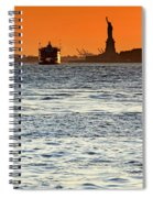 Remote Lady Liberty Spiral Notebook