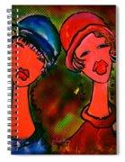 Remote Spiral Notebook