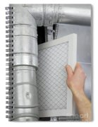 Replace Home Air Filter Spiral Notebook