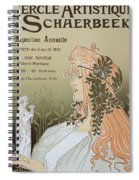 Reproduction Of A Poster Advertising Spiral Notebook