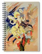 Reproduction Of A Poster Spiral Notebook