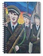 Republican Murals Against British Rule Spiral Notebook