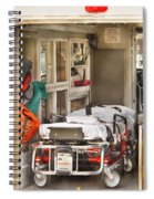 Rescue - Inside The Ambulance Spiral Notebook