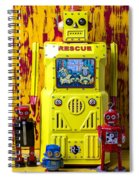 Rescue Robot Spiral Notebook