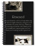 Rescued Spiral Notebook