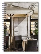 Reservations Only Venice Italy Spiral Notebook