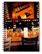Reservations Spiral Notebook