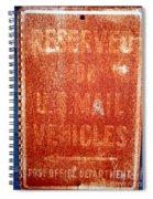 Reserved Spiral Notebook