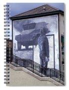 Derry Mural Resistance Spiral Notebook