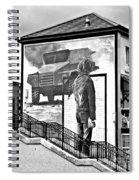 Resistance Mural In Derry Spiral Notebook
