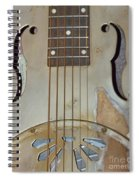 Resonator Detail Spiral Notebook
