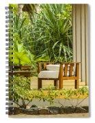 Resort Bungalow Near The Beach Spiral Notebook