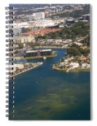 Resort City In The South Spiral Notebook