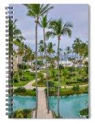 Resort In Dominican Republic Spiral Notebook