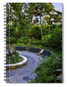 Respite - Carl Schurz Park 2 - Manhattan - New York Spiral Notebook