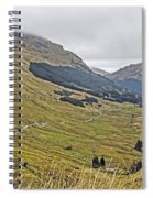 Rest And Be Thankful Pass Spiral Notebook