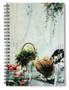 Rest From Garden Chores Spiral Notebook