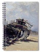 Rest Of A Shipwreck Spiral Notebook