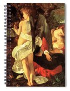 Rest On The Flight Into Egypt Spiral Notebook