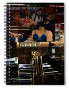 Restaurant In Montmartre Spiral Notebook