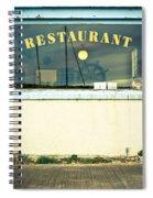 Restaurant Window Spiral Notebook