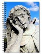 Resting Angel Spiral Notebook