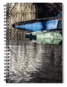Resting Boats Spiral Notebook
