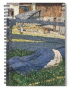 Resting In The Shade Spiral Notebook