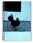 Resting On The Porch  Spiral Notebook