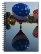 Resting On The Water Spiral Notebook