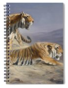 Resting Tigers Spiral Notebook