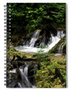 Restless Water Spiral Notebook