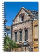 Restoration Work On King Street Spiral Notebook