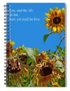 Resurrected Life Spiral Notebook