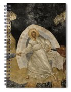 Resurrection Of Adam And Eve Panorama Spiral Notebook