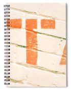 Retail Sign Spiral Notebook
