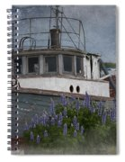 Retired Boat Spiral Notebook