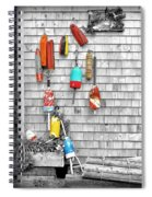 Retired Buoys Spiral Notebook