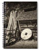 Retired Mill Stones Spiral Notebook